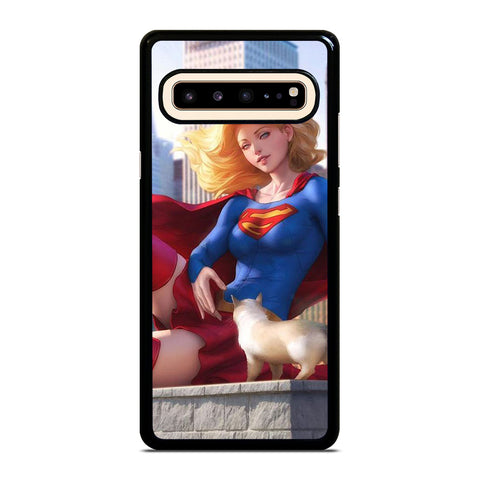 SUPERGIRL  DC CARTOON Samsung Galaxy S10 5G Case Cover