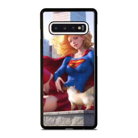 SUPERGIRL  DC CARTOON Samsung Galaxy S10 Case Cover