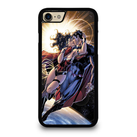 SUPERMAN KISSING WONDER WOMAN iPhone 7 / 8 Case Cover