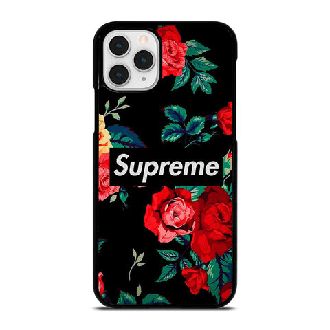 SUPREME FLOWER LOGO iPhone 11 Pro Case Cover