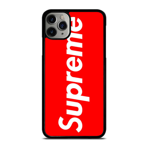 SUPREME SIMPLE LOGO iPhone 11 Pro Max Case Cover