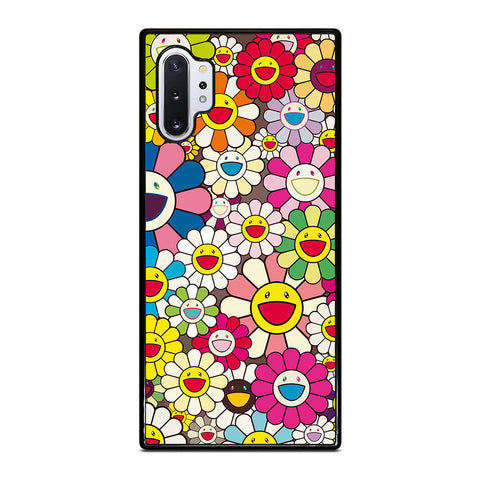 TAKASHI MURAKAMI FLOWERS COLLAGE Samsung Galaxy Note 10 Plus Case Cover