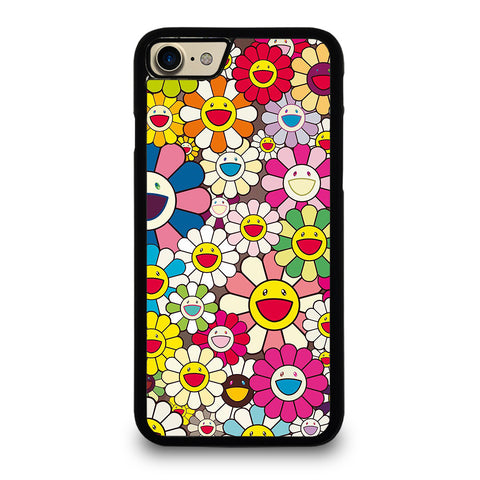 TAKASHI MURAKAMI FLOWERS COLLAGE iPhone 7 / 8 Case Cover