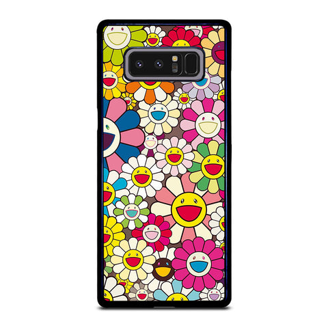 TAKASHI MURAKAMI FLOWERS COLLAGE Samsung Galaxy Note 8 Case Cover