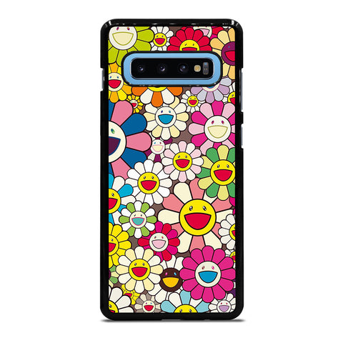 TAKASHI MURAKAMI FLOWERS COLLAGE Samsung Galaxy S10 Plus Case Cover