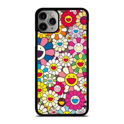 TAKASHI MURAKAMI FLOWERS COLLAGE iPhone 11 Pro Max Case Cover