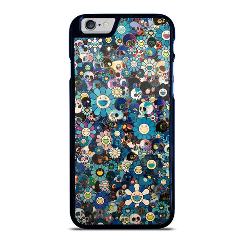 TAKASHI MURAKAMI FLOWERS SKULL iPhone 6 / 6S Case Cover