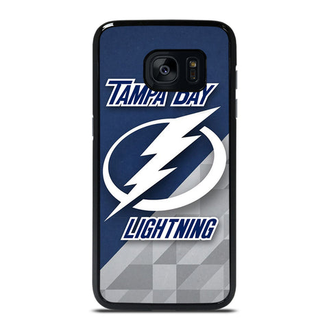 TAMPA BAY LIGHTNING NHL SYMBOL Samsung Galaxy S7 Edge Case Cover