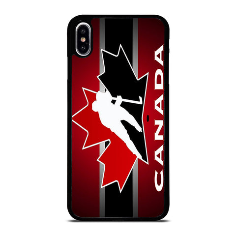 TEAM CANADA HOCKEY LOGO iPhone XS Max Case Cover