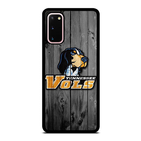 TENNESSEE VOLUNTEERS VOLS WOODEN LOGO Samsung Galaxy S20 Case Cover