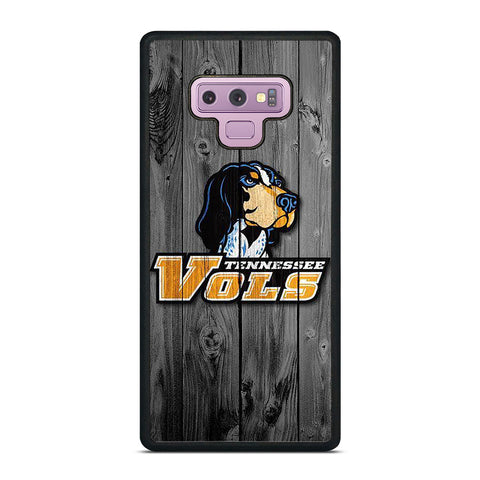 TENNESSEE VOLUNTEERS VOLS WOODEN LOGO Samsung Galaxy Note 9 Case Cover