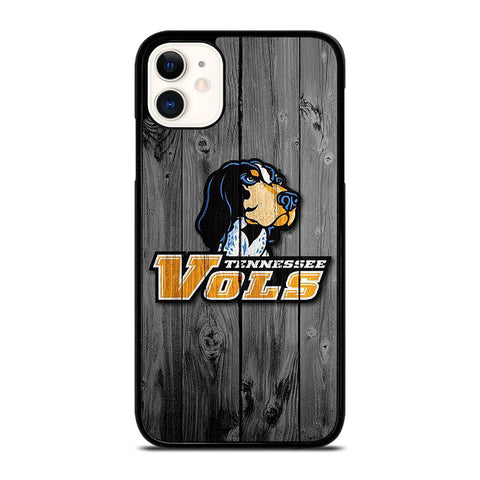 TENNESSEE VOLUNTEERS VOLS WOODEN LOGO iPhone 11 Case Cover