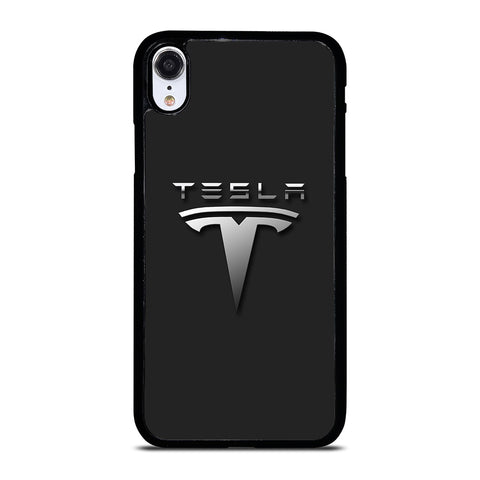 TESLA CAR LOGO iPhone XR Case Cover