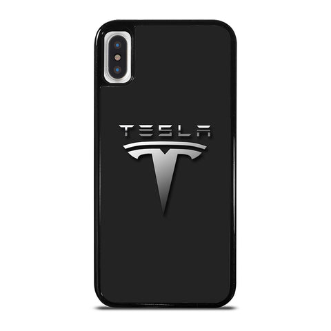 TESLA CAR LOGO iPhone X / XS Case Cover