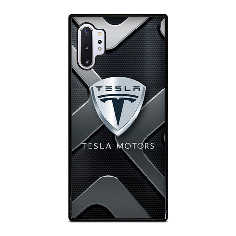 TESLA MOTOR CAR ICON Samsung Galaxy Note 10 Plus Case Cover