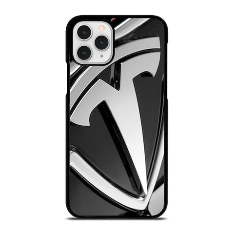 TESLA MOTOR EMBLEM LOGO iPhone 11 Pro Case Cover