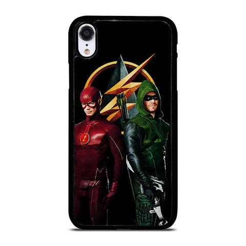 THE FLASH VS GREEN ARROW DC iPhone XR Case Cover