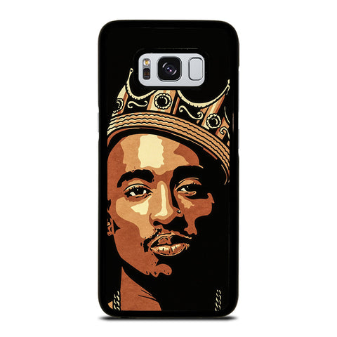 THE KING TUPAC SHAKUR ART Samsung Galaxy S8 Case Cover
