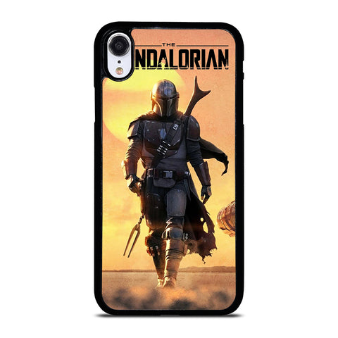 THE MANDALORIAN STAR WARS iPhone XR Case Cover