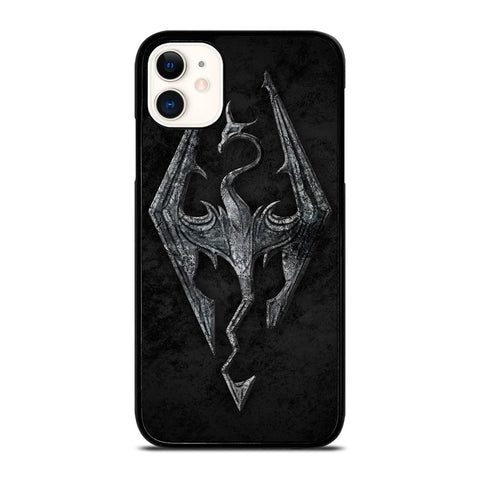 THE ELDER SCROLLS V SKYRIM EMBLEM iPhone 11 Case Cover