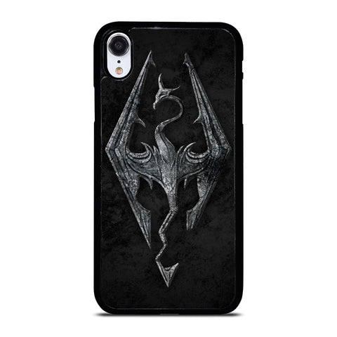 THE ELDER SCROLLS V SKYRIM EMBLEM iPhone XR Case Cover