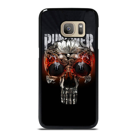 THE PUNISHER SKULL MARVEL Samsung Galaxy S7 Case Cover