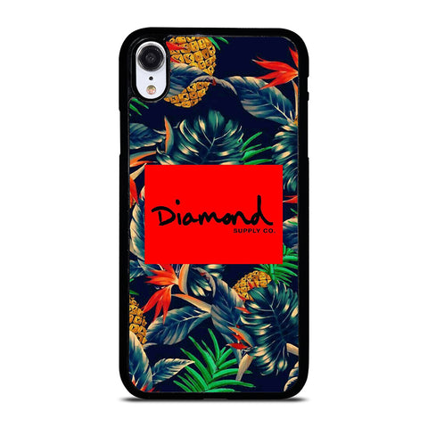 THRASHER DIAMOND SUPPLY CO PALM iPhone XR Case Cover