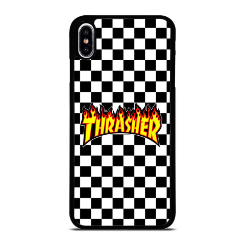 THRASHER CHECKERBOARD iPhone XS Max Case Cover