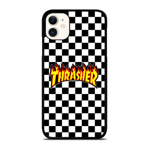 THRASHER CHECKERBOARD iPhone 11 Case Cover