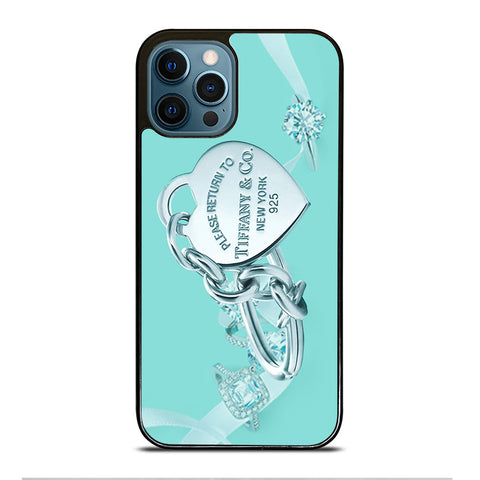 TIFFANY AND CO EMBLEM iPhone 12 Pro Max Case Cover