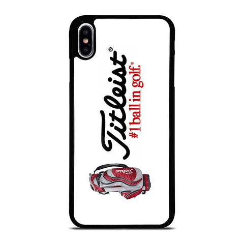 TITLEIST #1BALL IN GOLF LOGO iPhone XS Max Case Cover