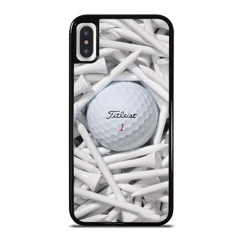 TITLEIST GOLF ICON iPhone X / XS Case Cover
