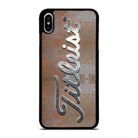 TITLEIST PLATE LOGO iPhone XS Max Case Cover
