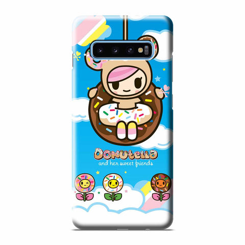 TOKIDOKI DONUTELLA AND FRIENDS Samsung Galaxy 3D Case Cover