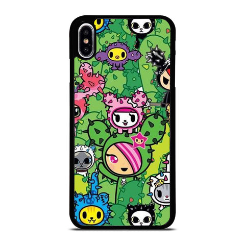 TOKIDOKI DONUTELLA CACTUS  iPhone XS Max Case Cover