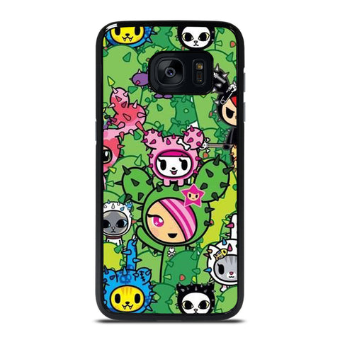 TOKIDOKI DONUTELLA CACTUS  Samsung Galaxy S7 Edge Case Cover