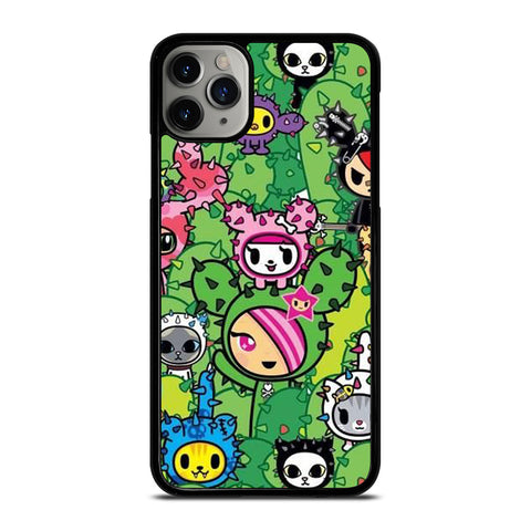 TOKIDOKI DONUTELLA CACTUS  iPhone 11 Pro Max Case Cover