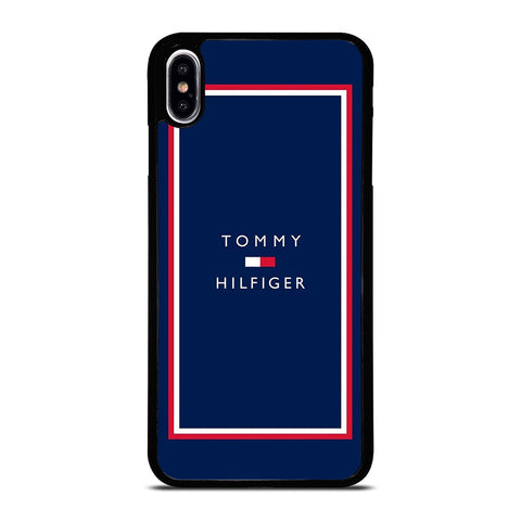 TOMMY HILFIGER LOGO iPhone XS Max Case Cover