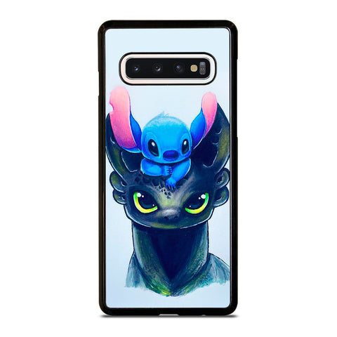 TOOTHLESS AND STITCH ART Samsung Galaxy S10 Case Cover