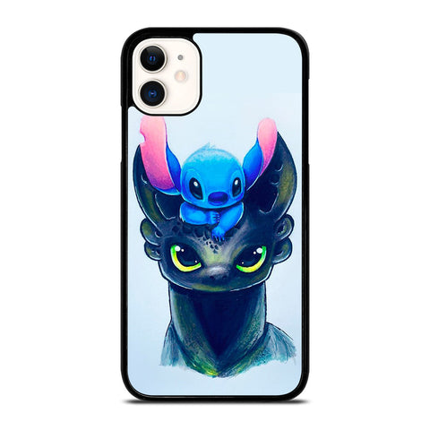 TOOTHLESS AND STITCH ART iPhone 11 Case Cover