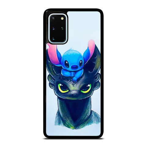 TOOTHLESS AND STITCH ART Samsung Galaxy S20 Plus Case Cover