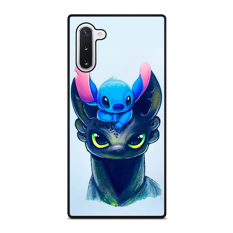 TOOTHLESS AND STITCH ART Samsung Galaxy Note 10 Case Cover