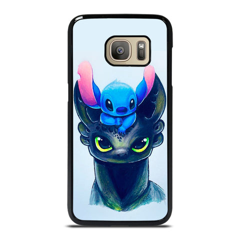 TOOTHLESS AND STITCH ART Samsung Galaxy S7 Case Cover