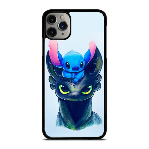 TOOTHLESS AND STITCH ART iPhone 11 Pro Max Case Cover