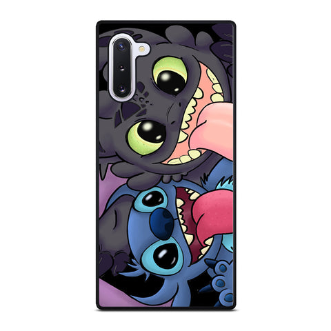TOOTHLESS AND STITCH CARTOON Samsung Galaxy Note 10 Case Cover