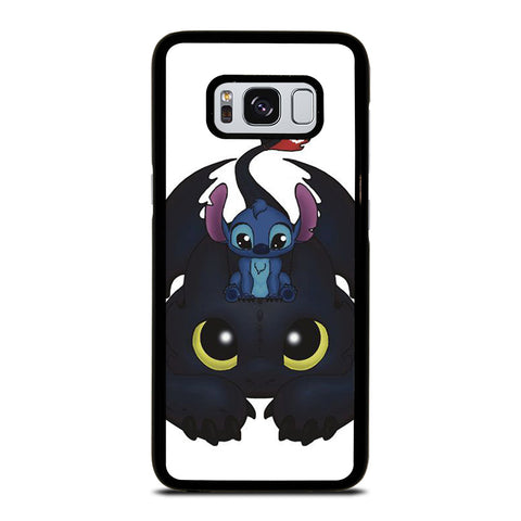 TOOTHLESS AND STITCH CUTE Samsung Galaxy S8 Case Cover