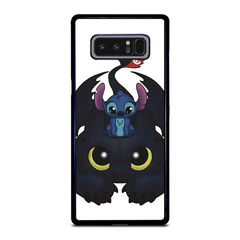 TOOTHLESS AND STITCH CUTE Samsung Galaxy Note 8 Case Cover