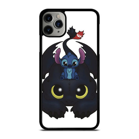 TOOTHLESS AND STITCH CUTE iPhone 11 Pro Max Case Cover