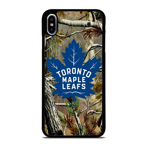 TORONTO MAPLE LEAFS CAMO iPhone XS Max Case Cover