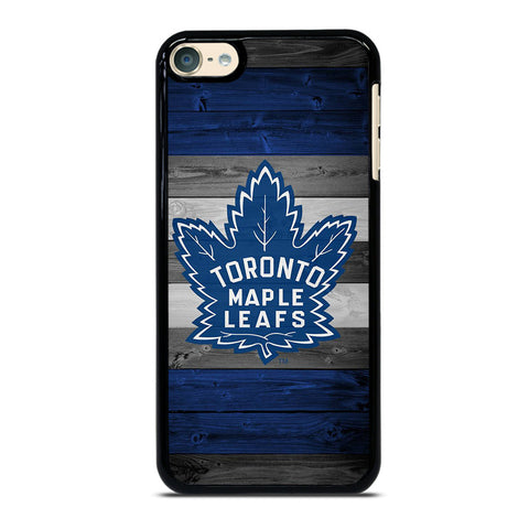 TORONTO MAPLE LEAFS WOODEN LOGO iPod Touch 6 Case